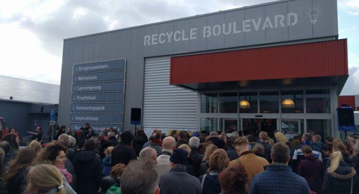 Omrin Estafette realiseert Recycle Boulevard