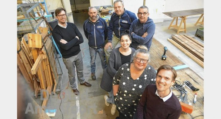 Kringloopcentrum Amersfoort gestart met Bouwkringloop